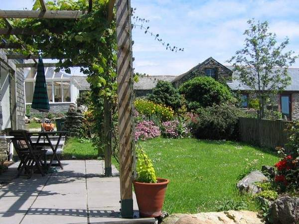 Boodrun self catering cottages Portmellon Cornwall